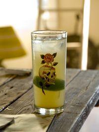 Meyer lemon whiskey sour-1