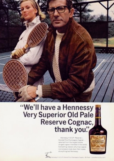 Courvoisier and Hennessy advertising: From Napoléon to HipHop